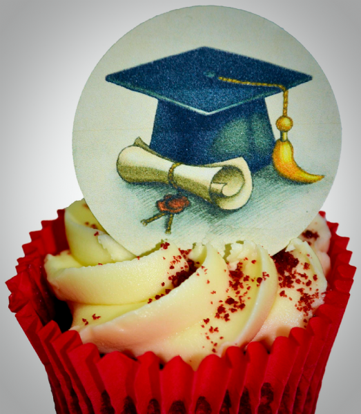 Edible cake toppers decoration - Graduation
